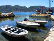 Boats docked in Demre