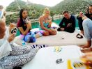 A game of Uno at Kalkan