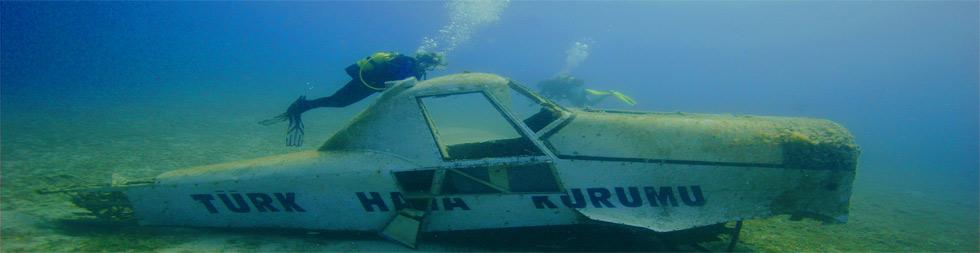 Diving in Kas